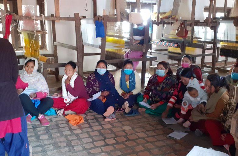PDA provides Dhaka Weaving Training to 50 Participants